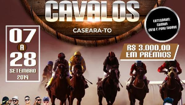 1º Campeonato de Corrida de Cavalos